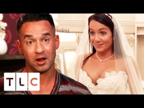 Jersey Shore's 'The Situation' Helps His Baby Sister Find A Wedding Dress | Say Yes To The Dress US