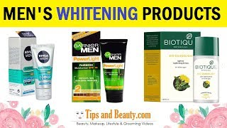 10 Best Face Whitening Products for Men in India