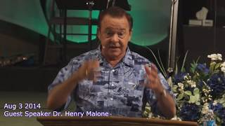 Aug 3 2014 Guest speaker Henry Malone
