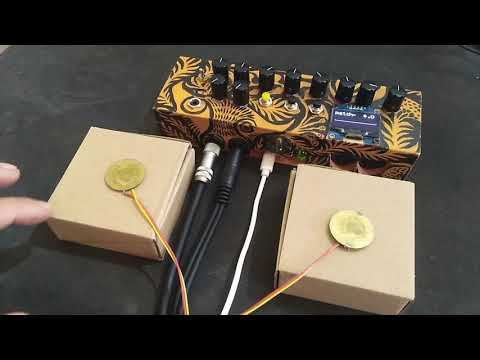 Piezo Trigger and Axoloti DIY Synth