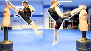 Taekwondo Kickboxing Techniques Sampler on the BOB XL thumbnail