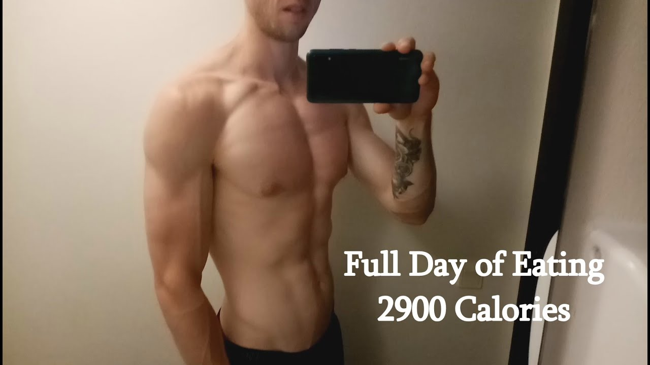 Download Full Day Of Eating On A Lean Bulk // 2900 Calories (SKINNY)