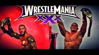 World Heavyweight Champion John Cena vs. WWE Champion Randy Orton - WrestleMania XXX Exclusive