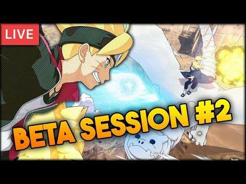 Naruto to Boruto: Shinobi Striker - Open Beta LIVE w/ The Homies! Session #2
