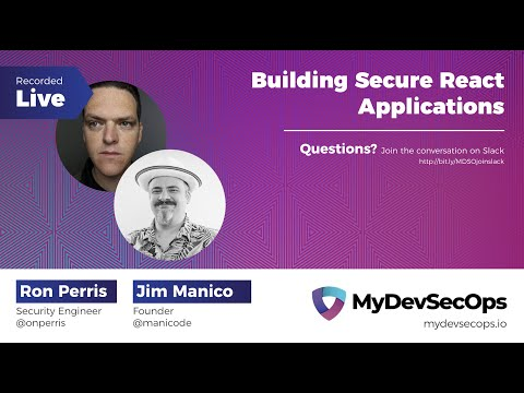 Building Secure React Applications thumbnail