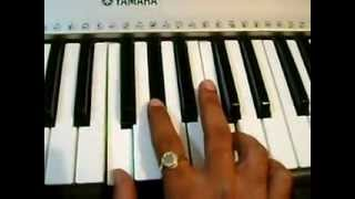 kolaveri di song notes on keyboard