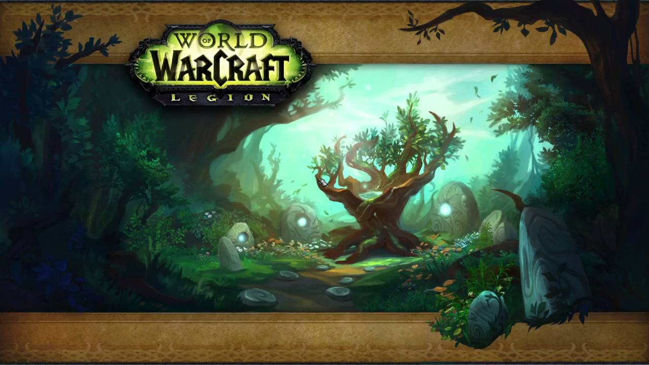 Legion Druid Order Hall Campaign The Return Of Malorne Youtube