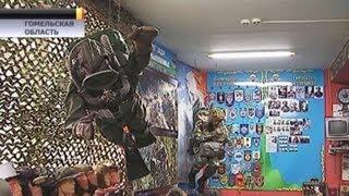 В Речице открылся первый музей воздушно-десантных войск