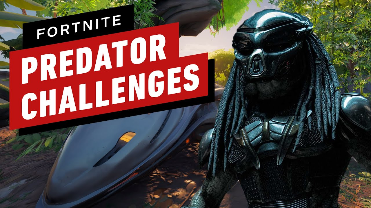 Fortnite's first set of Predator challenges just dropped and they're easy to knock out if you know where to go. Here's how to complete the first set of chall...
