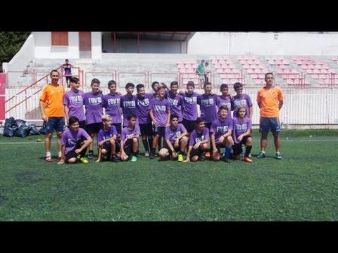 Real Valladolid International Soccer Camp Rhodes Island 2014