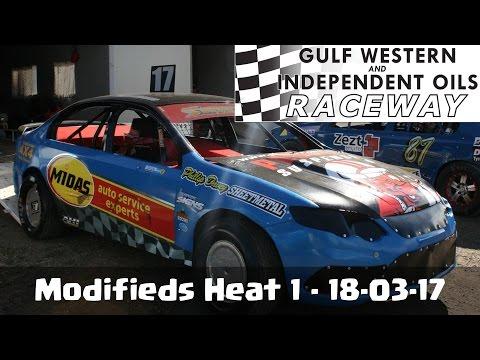 Modifieds Heat 1 - Latrobe Speedway 18-03-17