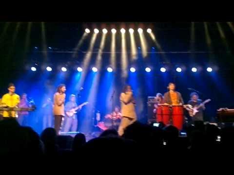 Pura Vida & Congo Ashanti Roy - Introduction Drum Song Riddim LIVE (Turnhout, Belgium)