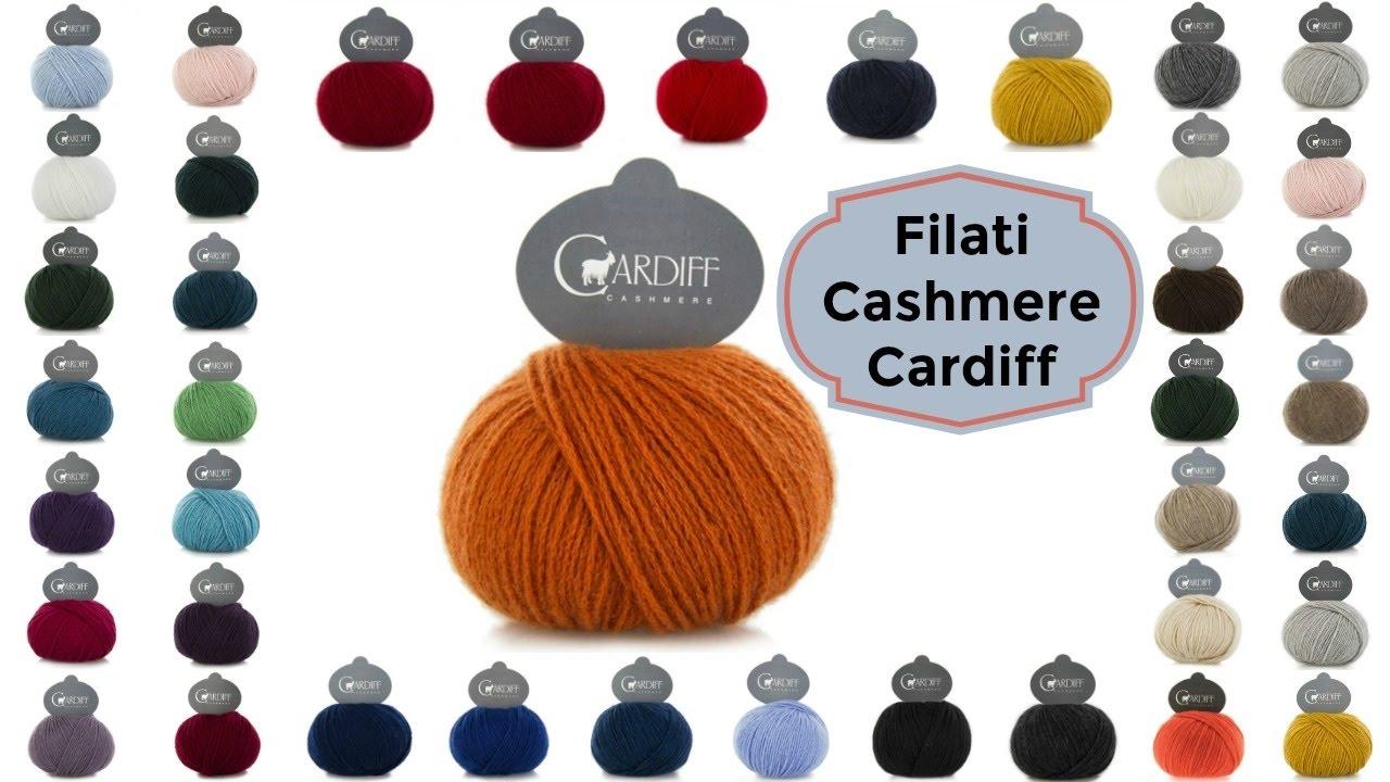 new product 684dc c63d7 Filati Cardiff Cashmere