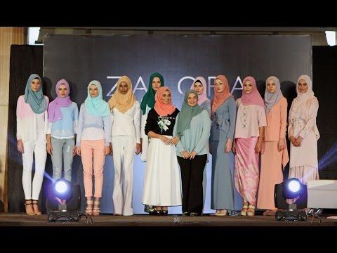 Naelofar Hijab x Zalora Malaysia Fashion Show