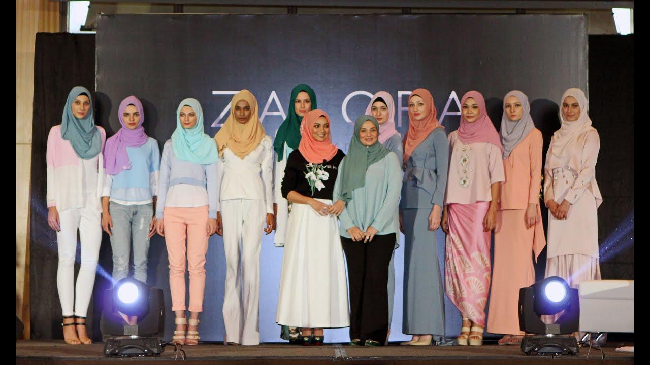 Naelofar Hijab X Zalora Malaysia Fashion Show Youtube