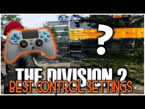 THE DIVISION 2 BEST CONTROLLER SETTINGS FOR CONSOLE OR PC | YOU NEED TO CHANGE THESE SETTINGS