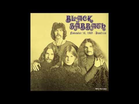 Black Sabbath   1969 11 16    Dumfries, Scotland   earliest know