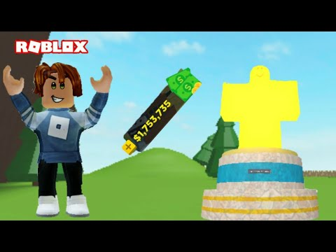 GETTING A GOLDEN STATUE IN HOUSE TYCOON (ROBLOX) YouTube