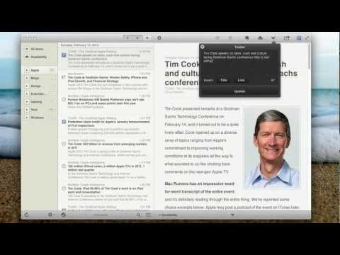 Reeder for Mac Review