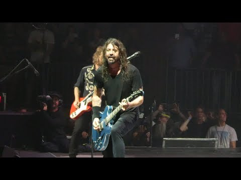 """Times Like These"" Foo Fighters@Madison Square Garden New York 7/17/18"