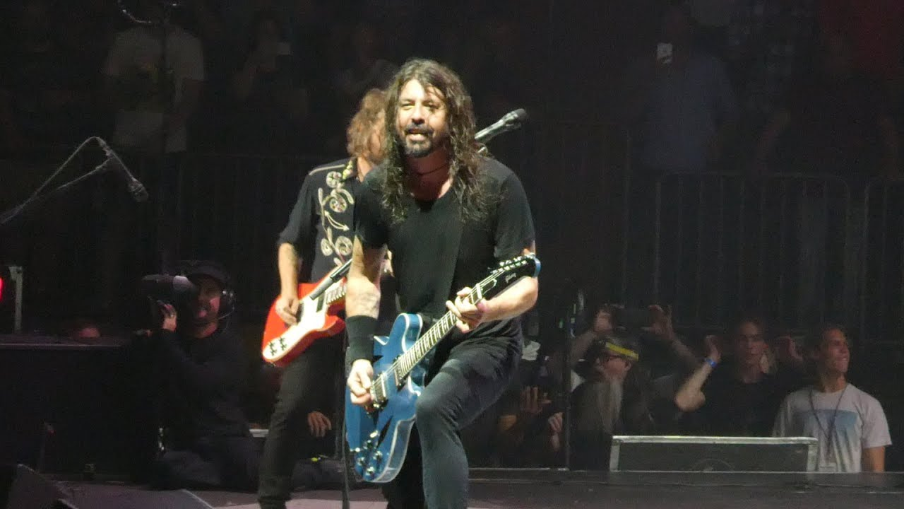 Times like these foo fighters madison square garden new - Foo fighters madison square garden ...