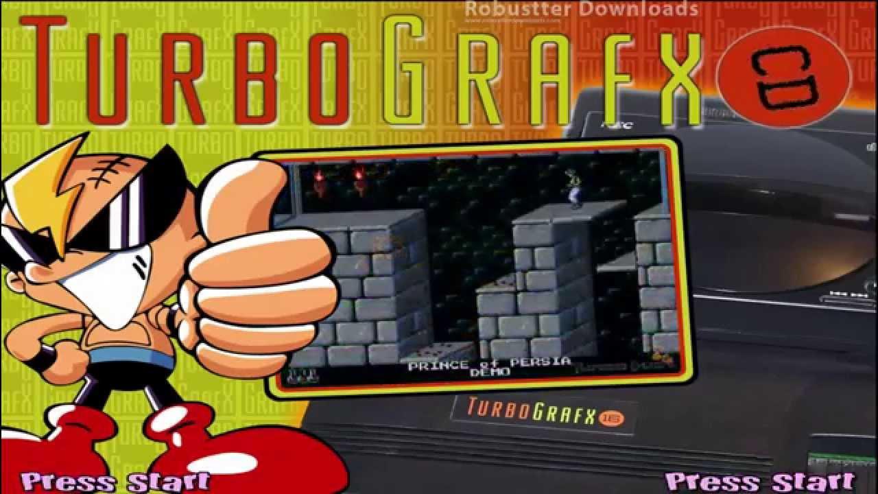 TurboGrafx CD - Hyperspin Ready - RDL - Arcade Punks