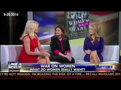 Dr. Gina Loudon, Ann Marie Murrell, & Morgan Brittany on Huckabee