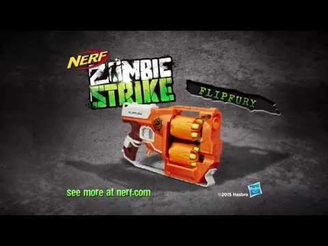 NERF Australia | Zombiestrike FlipFury 15 Second Commercial