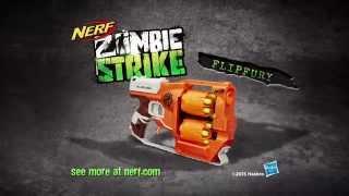 Kijk NERF - Zombiestrike FlipFury filmpje