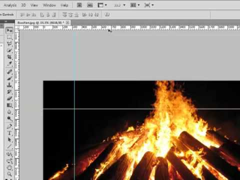 How To Create, Move, And Delete Guides On Adobe Photoshop CS5