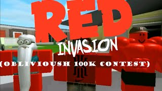 [ObliviousHD 100K Contest!] Red Invasion - Roblox Machinima