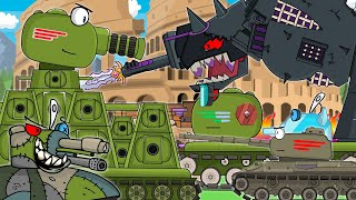 All series KV-44 FINAL Monster Arena: Cartoons about tanks