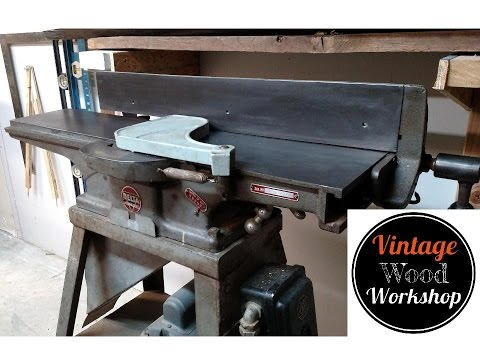 [XOTG_4463]  From Rust to Running- Reviving a Vintage Delta Jointer - YouTube   Delta Jointer Wiring Diagram      YouTube