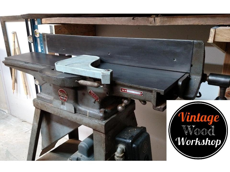 From Rust To Running Reviving A Vintage Delta Jointer