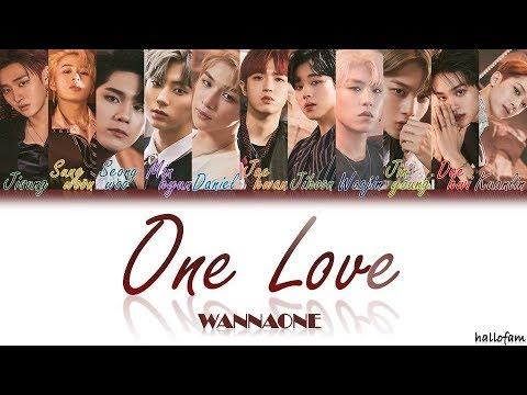Free Download Wanna One – 'one Love' (묻고싶다) [han/rom/indo] Color Coded Lyrics Sub Indo Mp3 dan Mp4