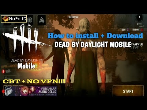 NO VPN! How to install + download !! Dead by daylight mobile (ENG) CBT Gameplay