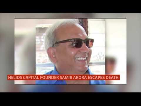 Helios Capital Founder Samir Arora Falls Into Open Manhole, Tweets Miraculous Escape