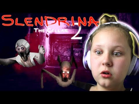 SLENDRINA'S BABY IS SUPER MAD! Granny Hides Again in The Cellar 2 Game