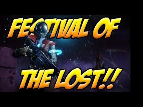 Festival of the Lost  Shattered Throne  Last Wish Raid!!!! Destiny 2