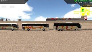 """HEAVY BUS SIMULATOR"" Autobuses Unidos AU"