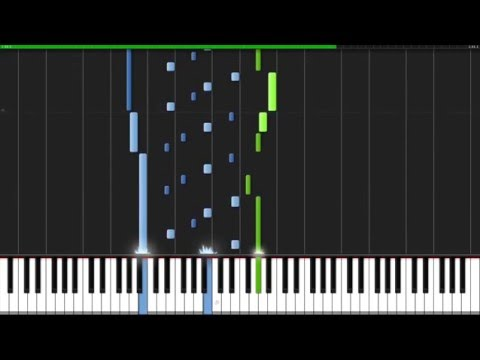 Songs without Words - Felix Mendelssohn [Piano Tutorial] (Synthesia)