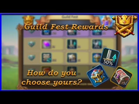 How To Choose The Best Guild Fest Rewards | Lords Mobile