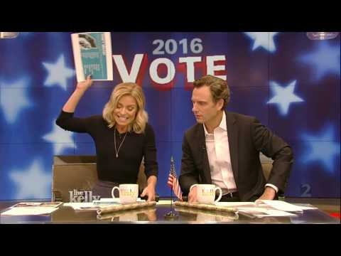 "Live With Kelly 11/08/2016  co-host Tony Goldwyn (""Scandal""):Miles Teller:Daveed Diggs"