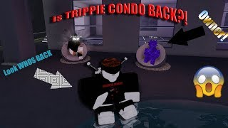 TRIPPIE CONDO IS BACK?!! | Roblox FT. X2CAM