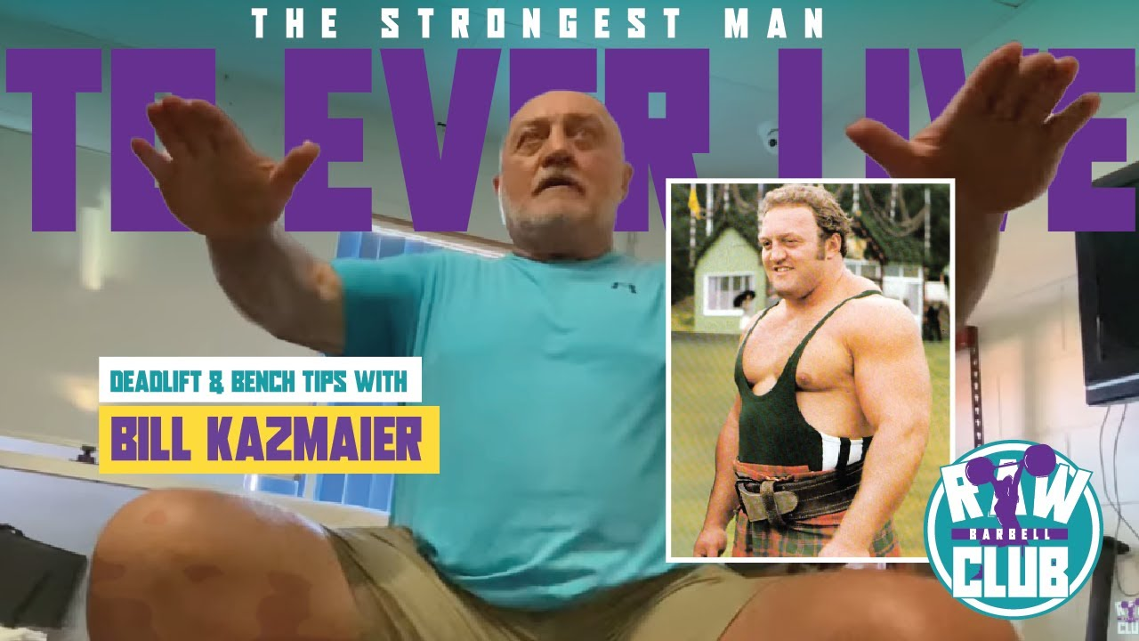 Download Bill Kazmaier - Deadlift & Bench Press Tips from the Strongest Man Who Ever Lived