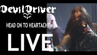Devildriver ,  Head on to Heartache (let them rot) ,Toronto,Nov 24 2012 ,Live 720P HD