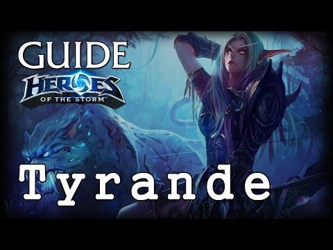 видео: Гайд Тиранда hots - guide tyrande heroes of the storm - hots Гайд Тиранда