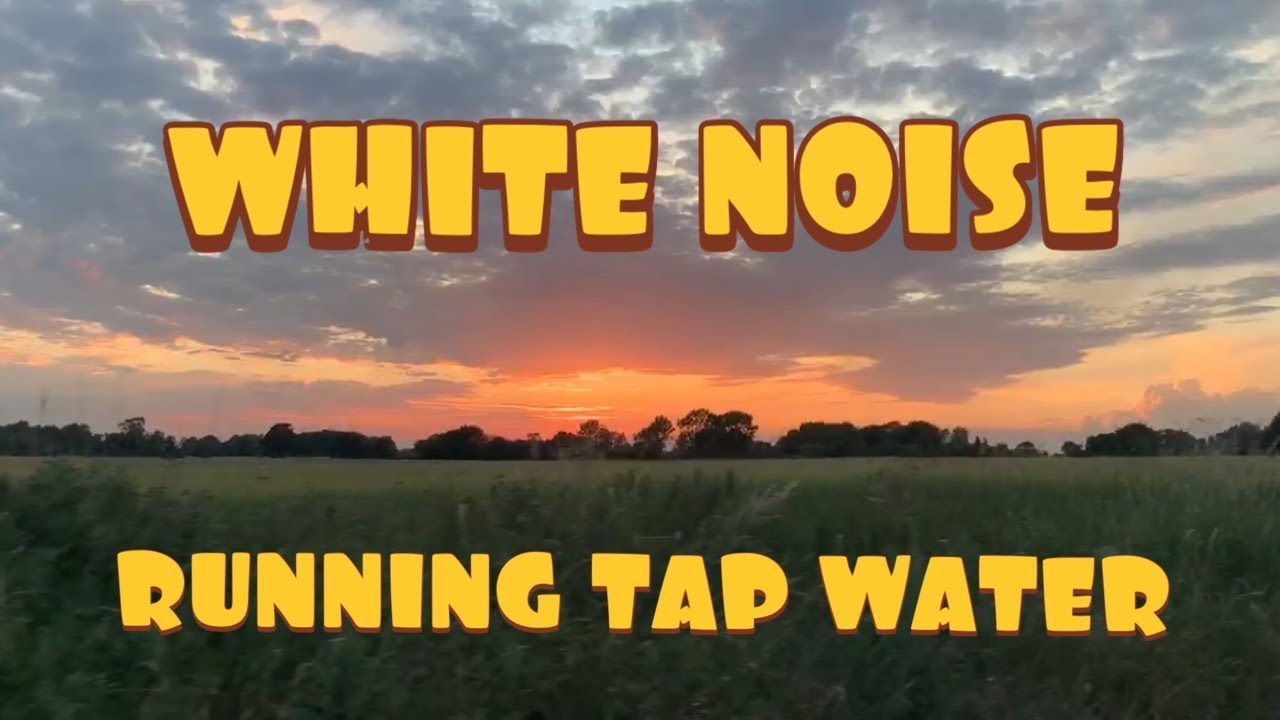 One Way To Soothe Colicky Baby | White Noise | Running Tap ...