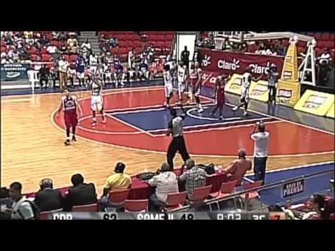 Rome Sanders highlight of Santiago CDP & Liga Nacional de Baloncesto Ecuatoriana (Santa Maria)