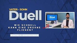 Vater Sohn - Duell  Wie schnell kann eine Drohne fliegen?   DAS FINALE